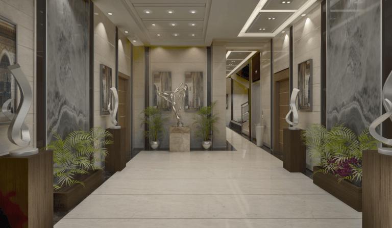 مدخل مشروع أكاسيا- بالنرجس الجديدة – التجمع الخامس