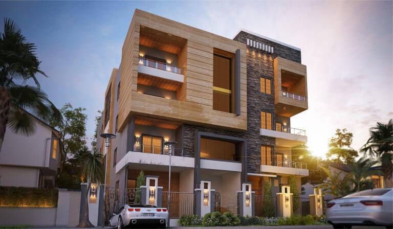 بيت الوطن الحي الثاني مشروع سكالا